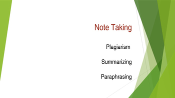 Notetaking for Beginners