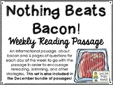 Nothing Beats Bacon! - Weekly Reading Passage and Questions