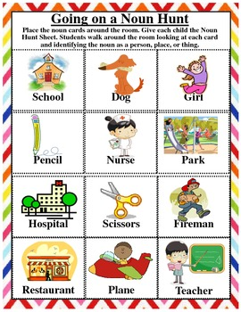 Nothing But Nouns: A Unit on Identifying Nouns