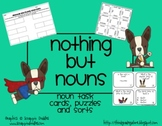 Nothing But Nouns - Task Cards, Puzzles and Sorts