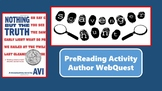 Nothing But the Truth Author WebQuest