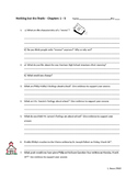 Nothing But the Truth by Avi - Chapter 1 - 5 Comprehension Questions