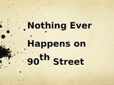 Nothing Ever Happens on 90th Street Vocabulary