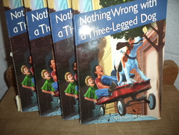 Nothing Wrong with a Three-Legged Dog  ISBN 0-440-44687-6  (Set of 13)