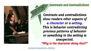 Notice & Note Contrasts and Contradictions Lesson Plan