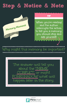 Notice & Note: Memory Moment Poster