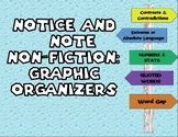 Notice & Note: Non-Fiction Graphic Organizers & Worksheets