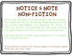 Notice & Note Posters for NonFiction