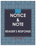 Notice & Note Reader's Response