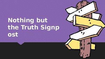 Notice & Note Signposts in Nothing but the Truth by Avi