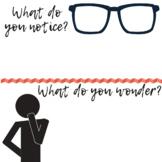 Notice & Wonder Image Prompt