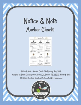 Notice and Note Anchor Chart Set