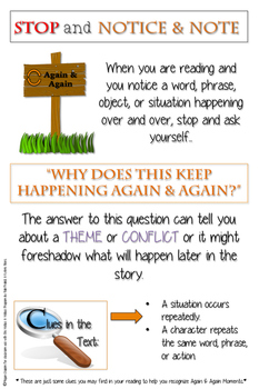 Notice and Note Anchor Charts