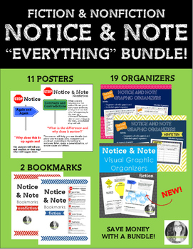 Notice and Note Everything BUNDLE!