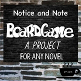 Notice and Note: Board Game Project for ANY novel, Fiction Signposts