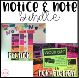 Notice and Note Classroom Wall Display Bundle