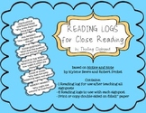 Notice and Note Close Reading Logs FULL SET