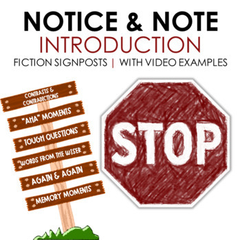 Notice and Note Fiction Introduction with Video Examples