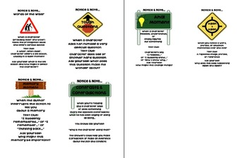 Notice and Note Desk Charts