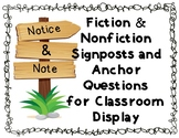 Notice and Note Fiction & Nonfiction Signs and Questions