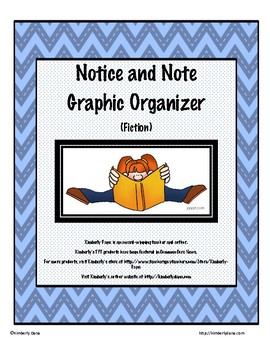 Notice and Note Graphic Organizer (Fiction)