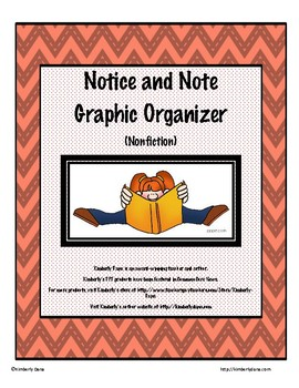 Notice and Note Graphic Organizer (Nonfiction)