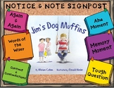 Notice and Note- Jim's Dog, Muffins