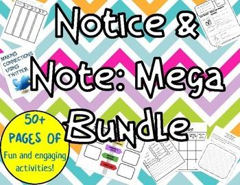 Notice and Note: Mega Bundle