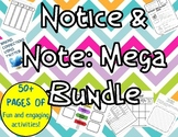 Notice and Note: Mega Bundle with posters, bookmarks & journals!