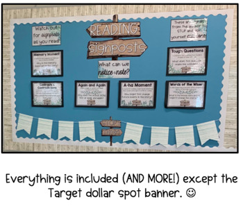 Notice and Note NONFICTION Reading Signposts