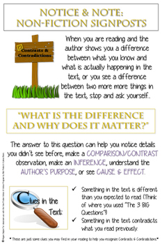 notice and note nonfiction signposts pdf