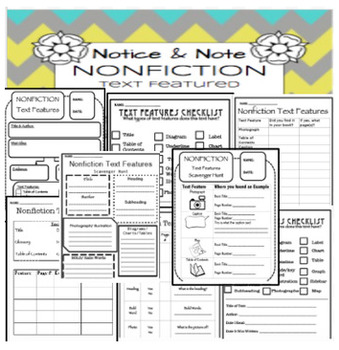 Notice and Note: Nonfiction:  ULTIMATE BUNDLE