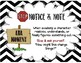 Notice and Note Fiction & Nonfiction Posters