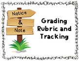 Notice and Note Rubric and Tracking