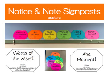 Notice and Note Signpost Posters