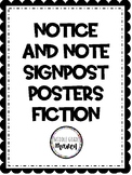 Notice and Note Signpost Posters - Fiction