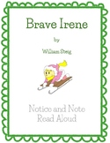 Notice and Note Signpost Read Aloud - Brave Irene