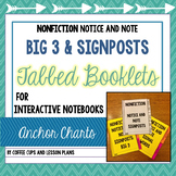 Notice and Note NONFICTION Signpost Tabbed Booklet - Inter