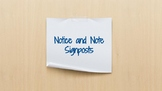 Notice and Note Signposts--FREE