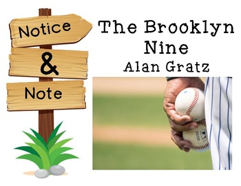 Notice and Note Signposts Guide: The Brooklyn Nine