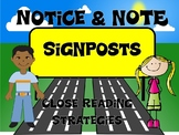 Notice and Note Signposts PowerPoint Presentation