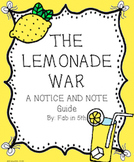 Notice and Note: The Lemonade War