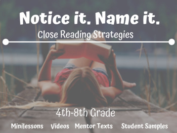 Notice and Note Unit with 'Reading Across Texts' Protocol