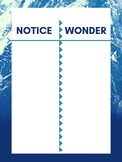 Notice and Wonder Anchor Chart
