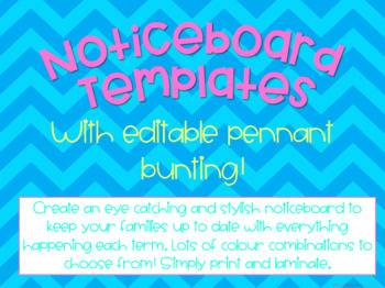 Noticeboard Display Templates