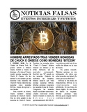 Noticias falsas: Bitcoin scandal