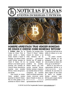 Noticias falsas: Bitcoin scandal