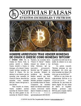Noticias Falsas Bitcoin Scandal By The Comprehensible Classroom By