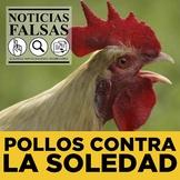 Noticias falsas: Pollos contra la soledad