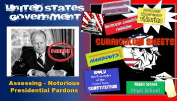 Notorious Presidential Pardons  - The Executive Action (student activity)